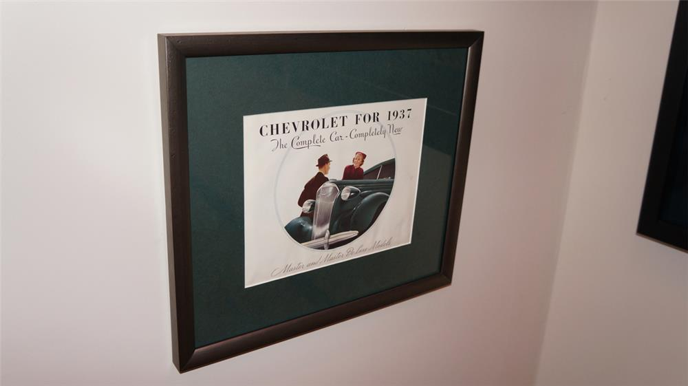 Choice Chevrolet for 1937 full colored sales brochure. - Front 3/4 - 180269