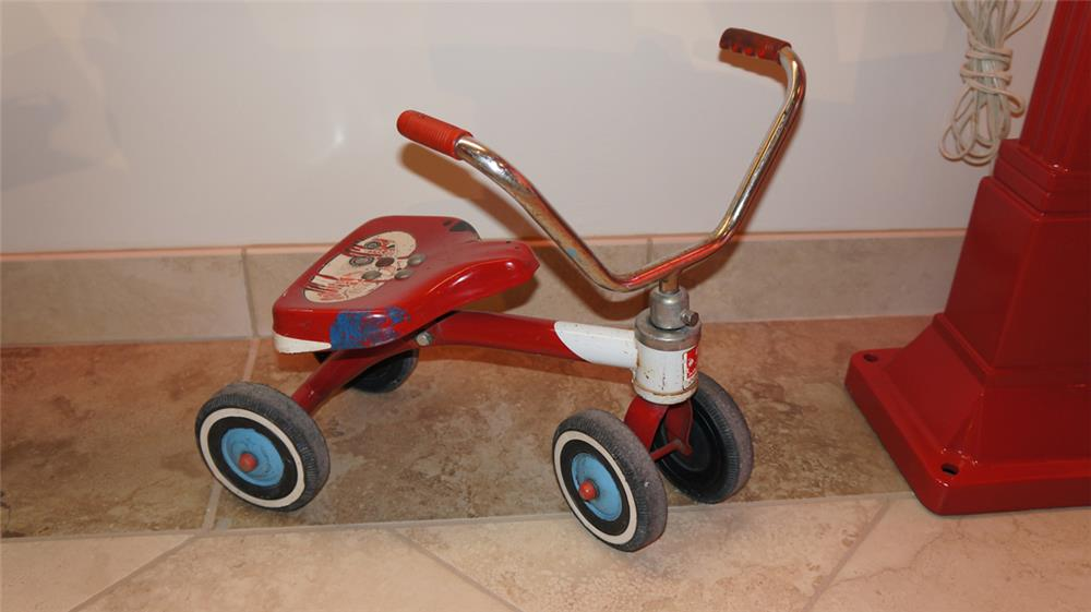 1960's AMF Child's tricycle found in all original condition. - Front 3/4 - 180326