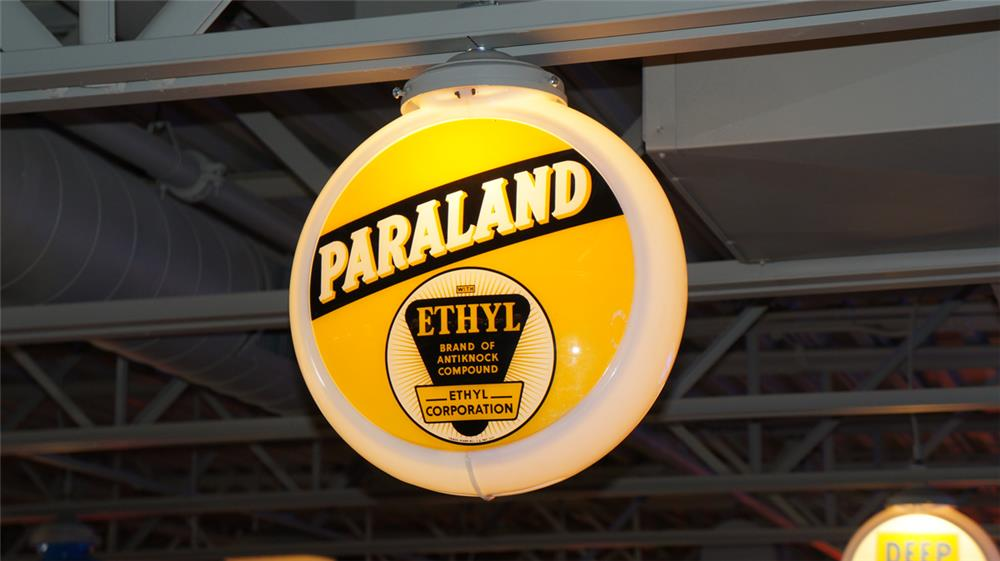 1940's Paraland with Ethyl gas pump globe in a Capcolite body. - Front 3/4 - 180371