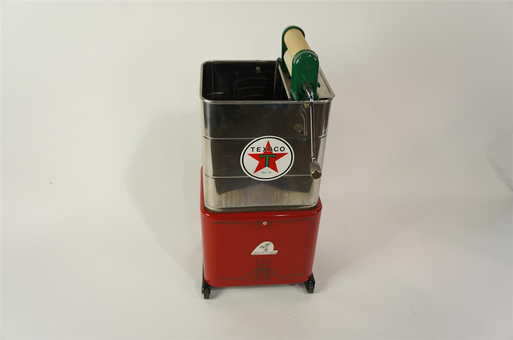 1950's Monitor Texaco Oil fuel island window service electric cleaner with towel roller. - Front 3/4 - 181891