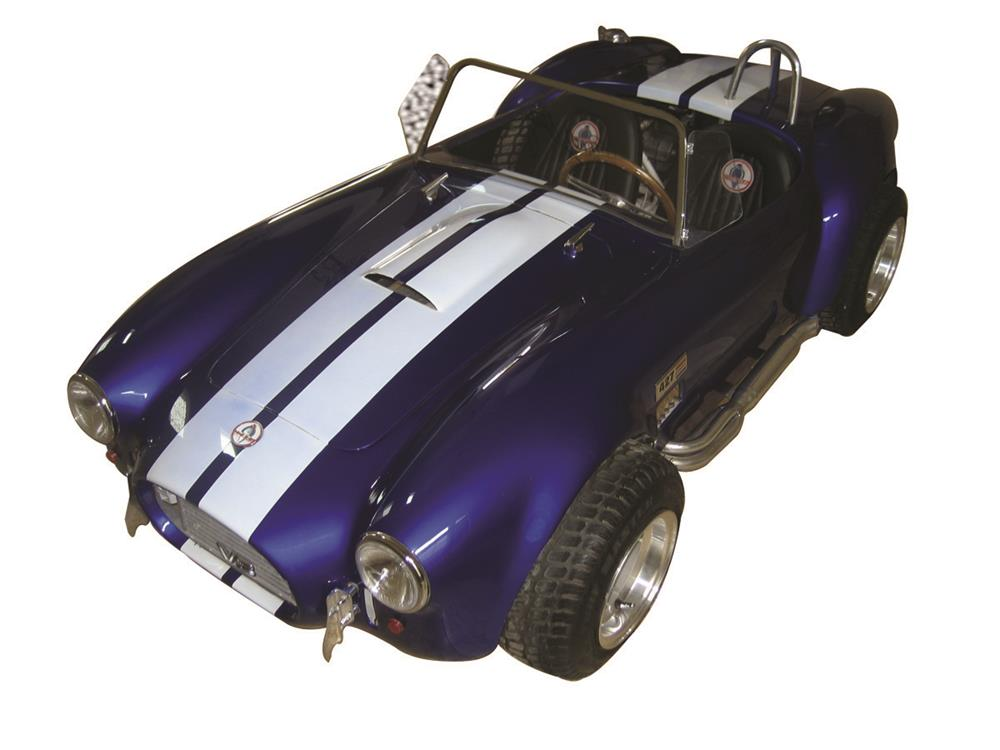 One of a kind 427 Cobra 1/2 scale replica Super Snake go-kart. - Front 3/4 - 182359