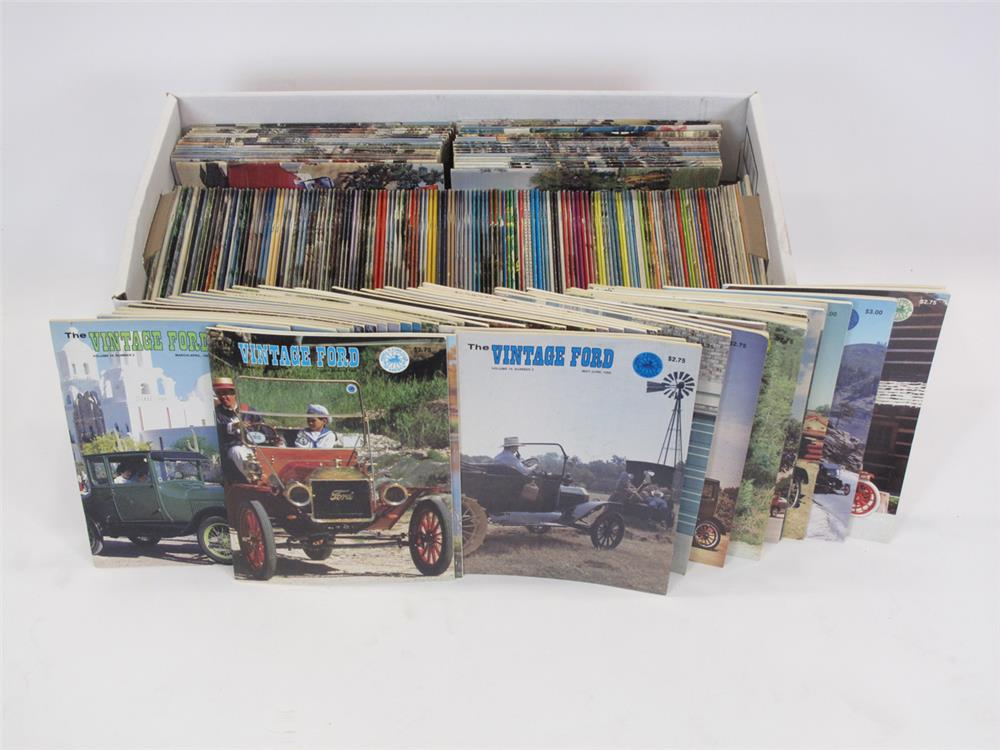 Addendum Item - Large lot of vintage Ford magazines. - Front 3/4 - 183153