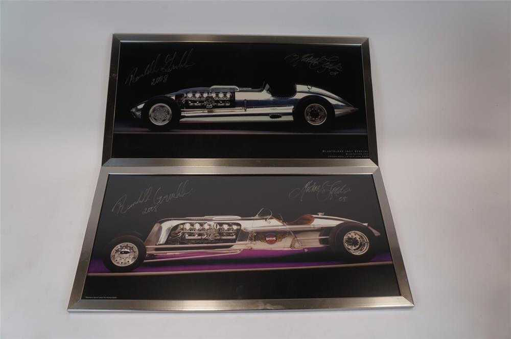 "Lot of two 2008 framed Blastolene photos of the ""Blastolene Special"" and ""Blastolene Indy Special"". - Front 3/4 - 183168"