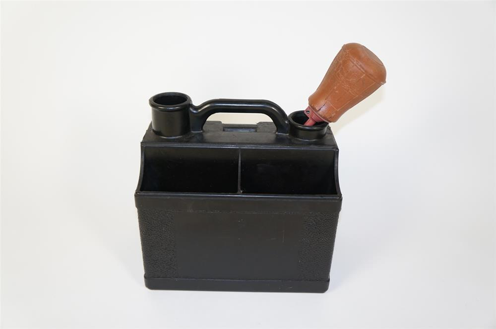 Circa 1930s-40s service department portable battery service kit. - Front 3/4 - 184726