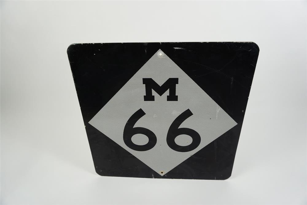 Missiouri Highway 66 vintage metal road sign with reflective finish. - Front 3/4 - 186161