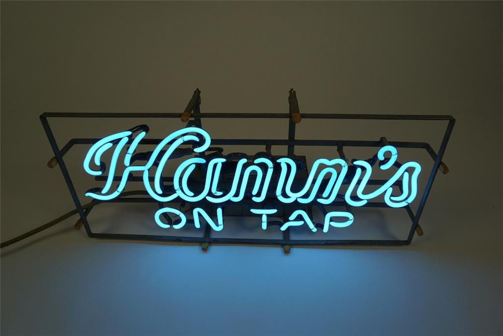 Circa 1950s-60s Hamm's On Tap neon tavern sign. Appears to have been very lightly used. - Front 3/4 - 186217