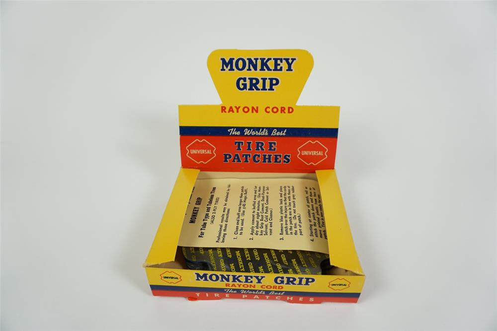 NOS Monkey Grip Tire Patches counter top store display found unused. - Front 3/4 - 186256