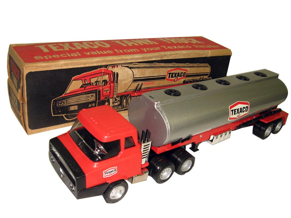 Incredible NOS promotional Texaco tanker truck with original box. - Front 3/4 - 186329