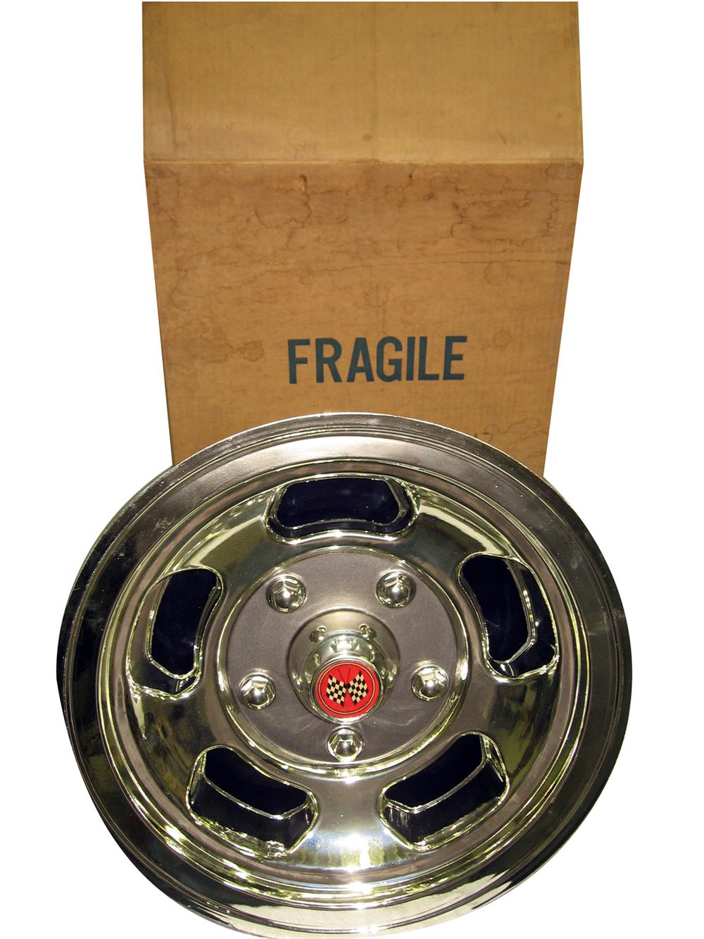 Extremely hard to find 1971 Jetzon lighted showroom wheel display tire insert. - Front 3/4 - 186337