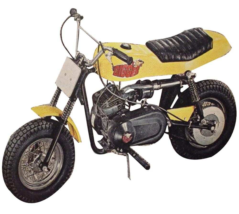 Rupp Mini Bike Company History 1970 Rupp Enduro Bike