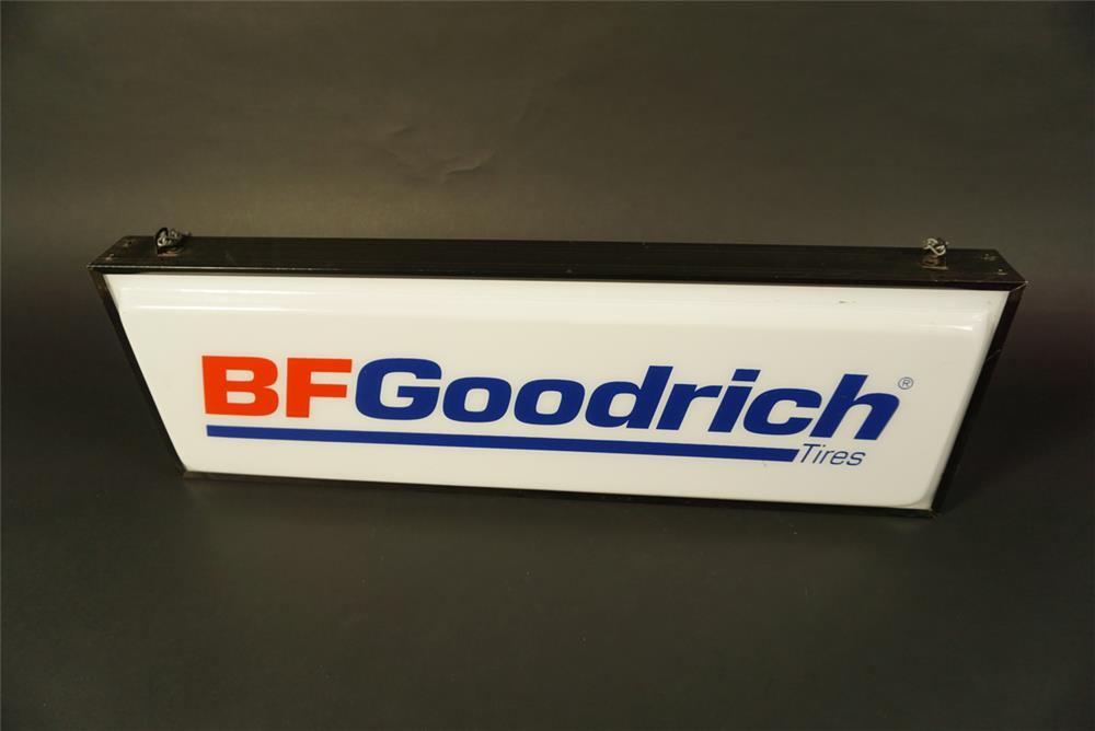 BF Goodrich Tires double-sided light-up automotive garage sign. - Front 3/4 - 191582
