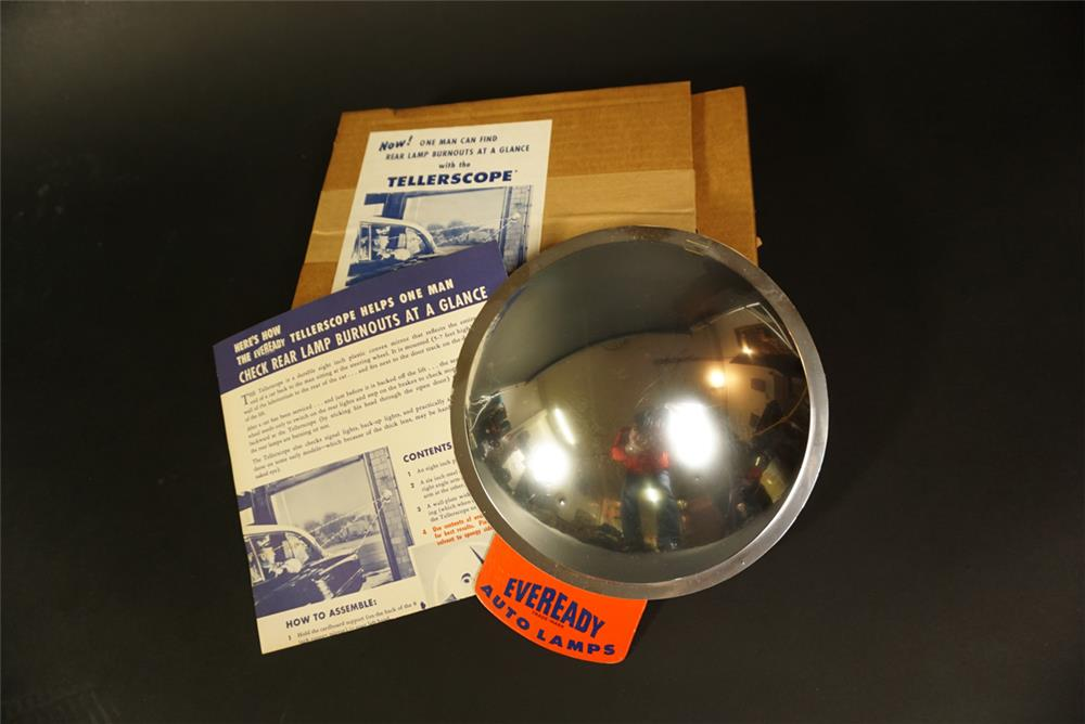 NOS 1950s Eveready Auto Lamps automotive garage Tellerscope kit still in the original box. - Front 3/4 - 191735