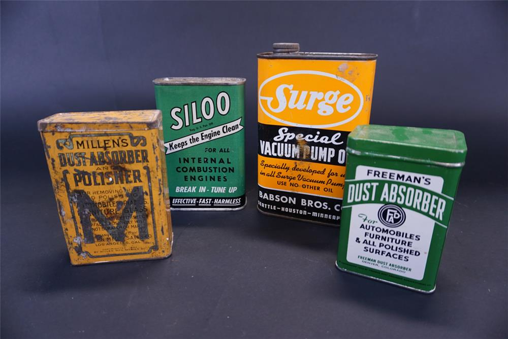 Lot of four tins from the 1920s-50s. - Front 3/4 - 191761