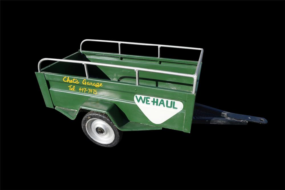 Hard to find vintage U-Haul pedal car trailer in original condition. - Front 3/4 - 192000