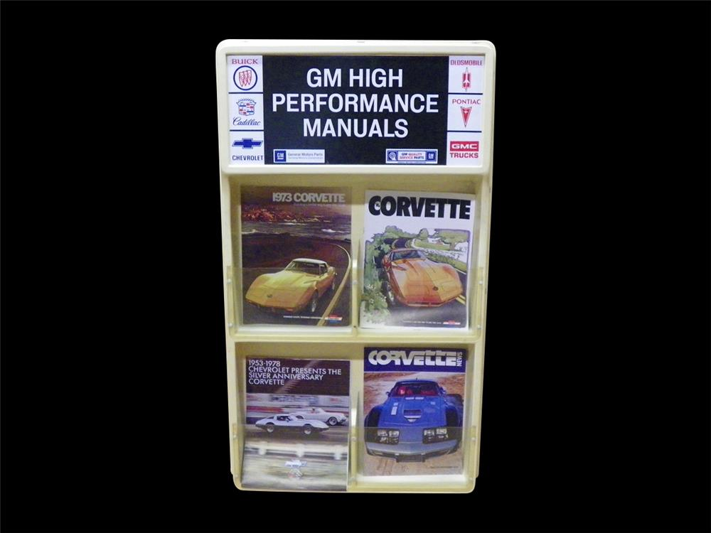 Fantastic GM High Performance showroom sales display rack with original brochures. - Front 3/4 - 192291