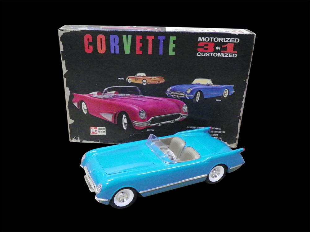 1954 Corvette promotional model by Ideal Toys. Built from an NOS kit. - Front 3/4 - 192297