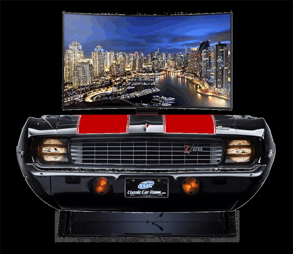 One of kind 1969 Camaro RS/SS front end entertainment TV display. - Front 3/4 - 192374