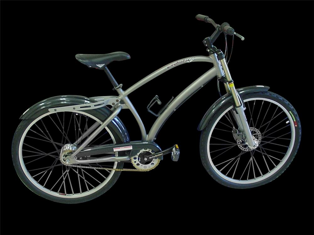 1998 Harley-Davidson limited edition mountain bicycle with disc brakes. - Front 3/4 - 192391