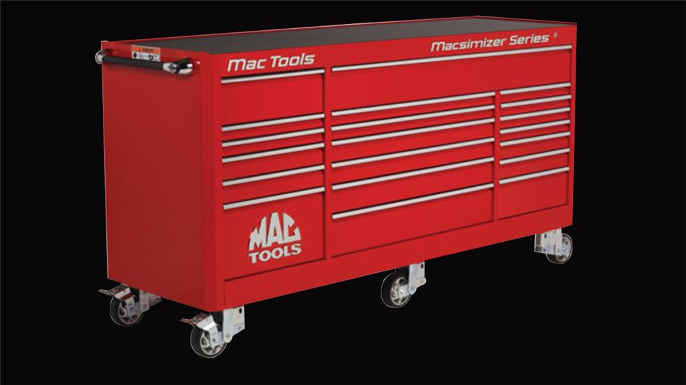 Darrell Gwynn S Mac Tools Mb1900 Roller Cabinet With Over 48