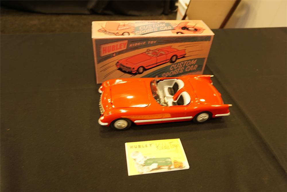 Addendum Item - Restored 1953-1955 metal-bodied Corvette by Hubley Toys. - Front 3/4 - 193756