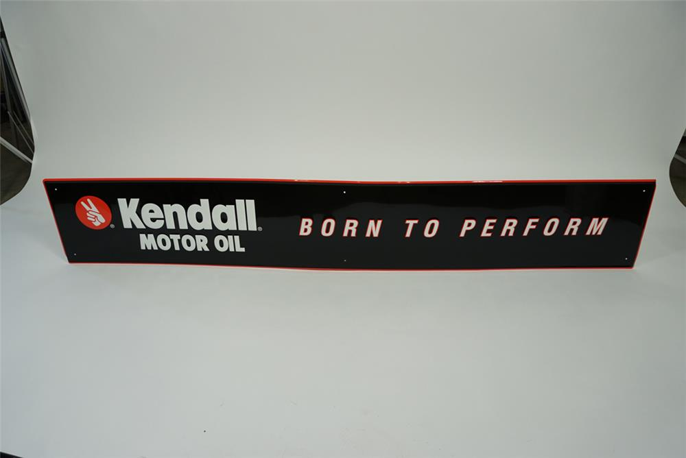 Nos kendall motor oil 39 born to perform 39 single sided for Kendall motor oil distributors