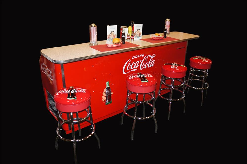 Superlative 1950s Professionally Restored Coca Cola Three