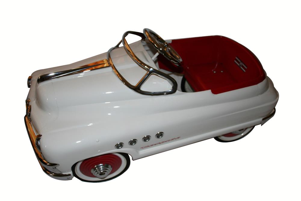 1950 Murray Torpedo Buick Pedal Car With Menacing Grill And Side Intake Ports