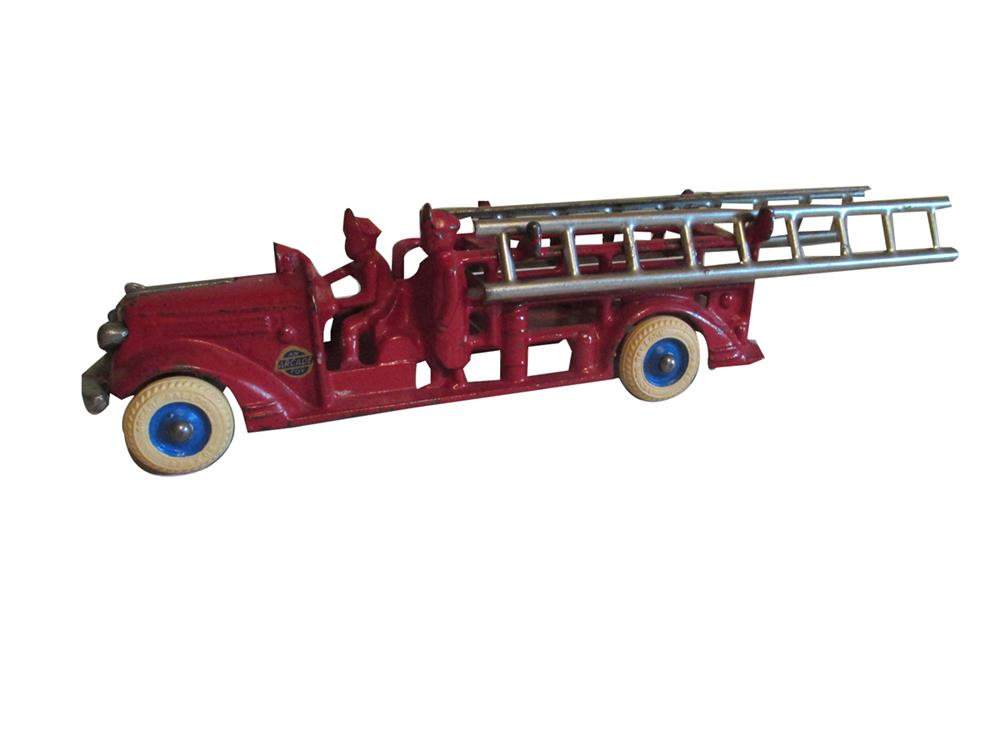 Whats My Car Worth Cast >> Nicely restored 1930s Arcade Toys cast-iron fire department l - 196952
