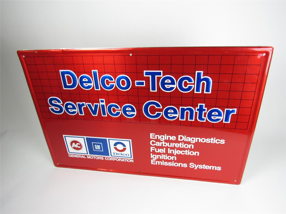 Nos general motors delco tech service center single sided for General motors service center