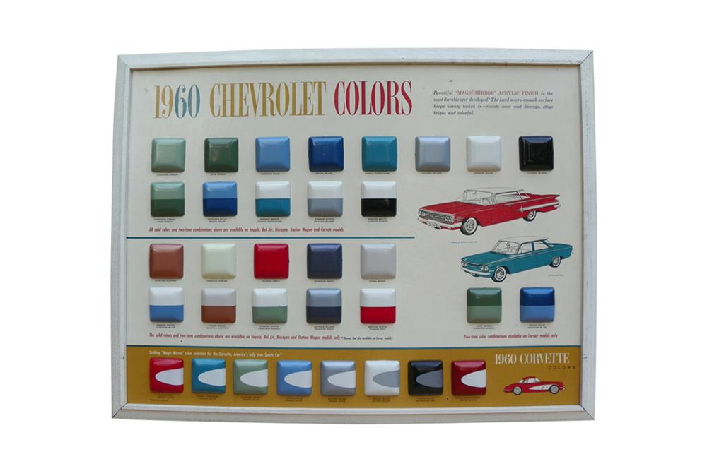 Choice 1960 Chevrolet Colors dealership showroom exterior pai