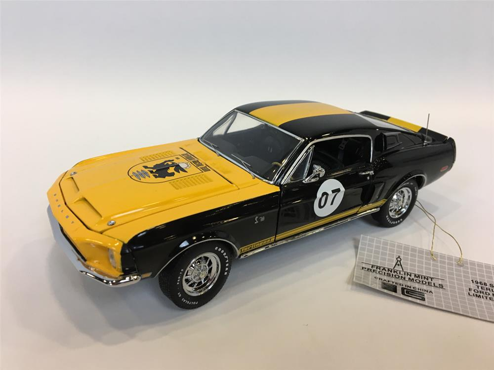 1968 Shelby Terlingua Ford Mustang LE 1/24 scale Franklin Mint. #201 of 250. - Front 3/4 - 205103