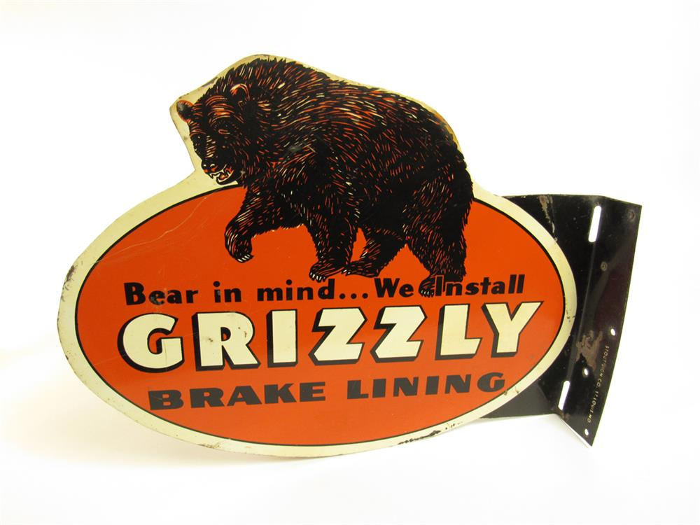 Grizzly Brake Lining : Very hard to find s grizzly brake lining tin flange