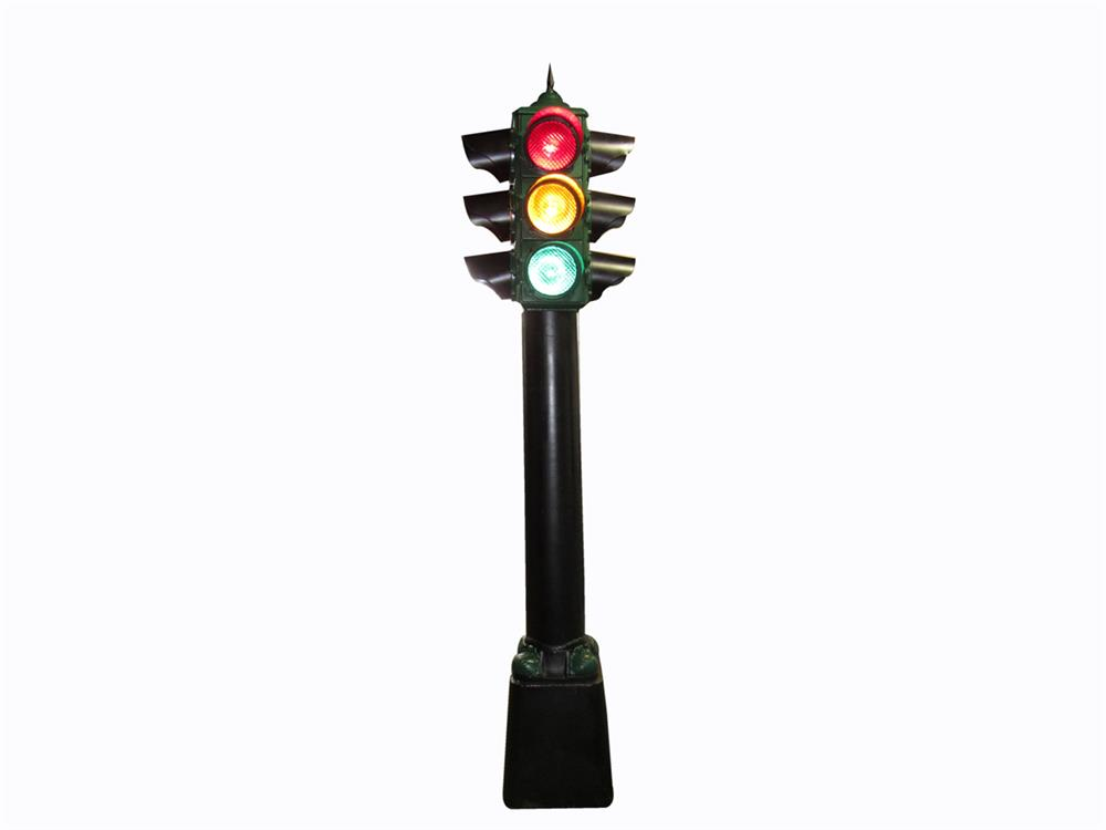 Whats My Car Worth Cast >> Stylish and tall 1930s municipal four-way traffic light with - 215189