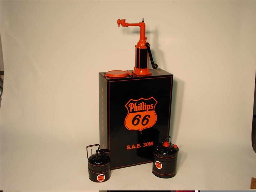 Three Piece Set Of Professionally Restored Phillips 66