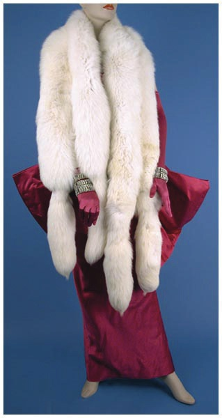 Madonna - Marilyn Monroe costume worn in the video Material Girl, 1985. - Front 3/4 - 46502