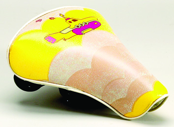The Beatles Yellow Submarine Bicycle Seat,