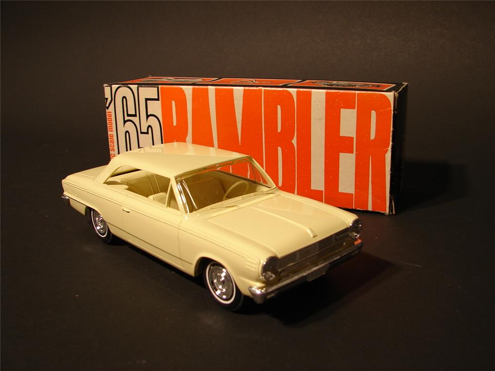 N.O.S. 1965 Rambler by AMC dealer promotional still in the original box. - Front 3/4 - 46767
