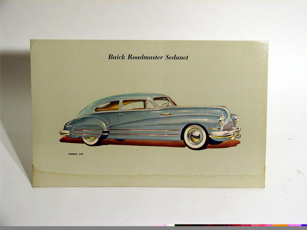 1940s Buick Sedanet dealership showroom display. - Front 3/4 - 46864
