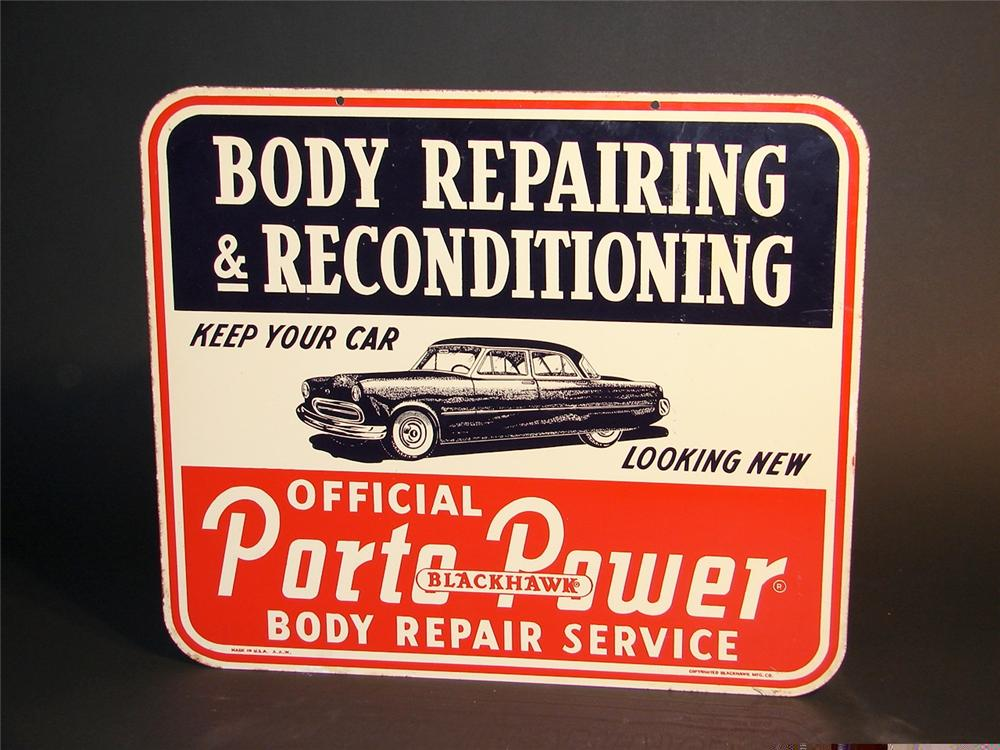 Utility Body Signs : S blackhawk porto power body repair service double