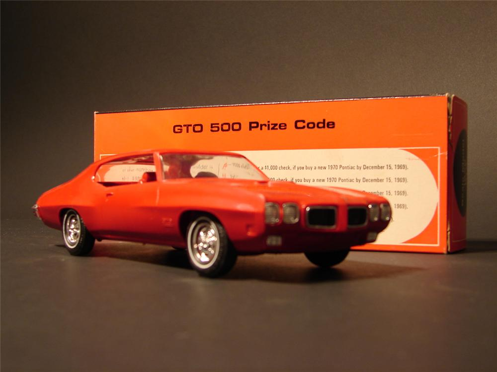 N.O.S. 1970 Pontiac GTO dealer promotional still in the original box. - Front 3/4 - 46897