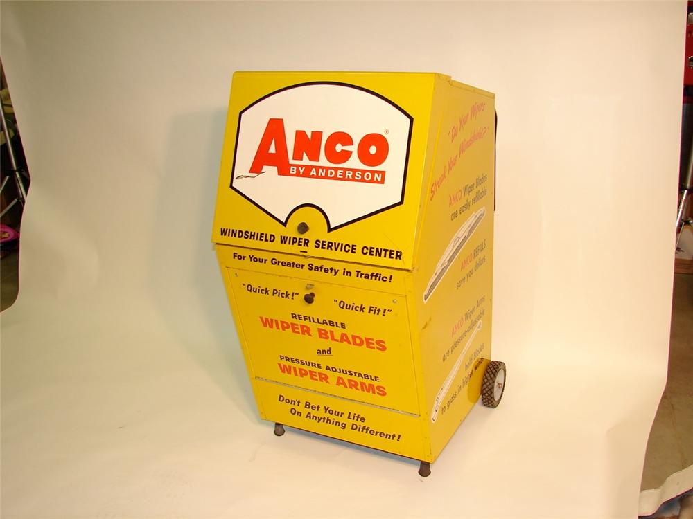Anco Wiper Blades >> Circe 1950s-60s Anco Wiper Blades garage display cabinet.