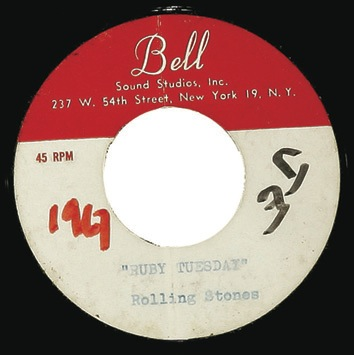 "Rolling Stones ""Ruby Tuesday""/ ""Lets Spend