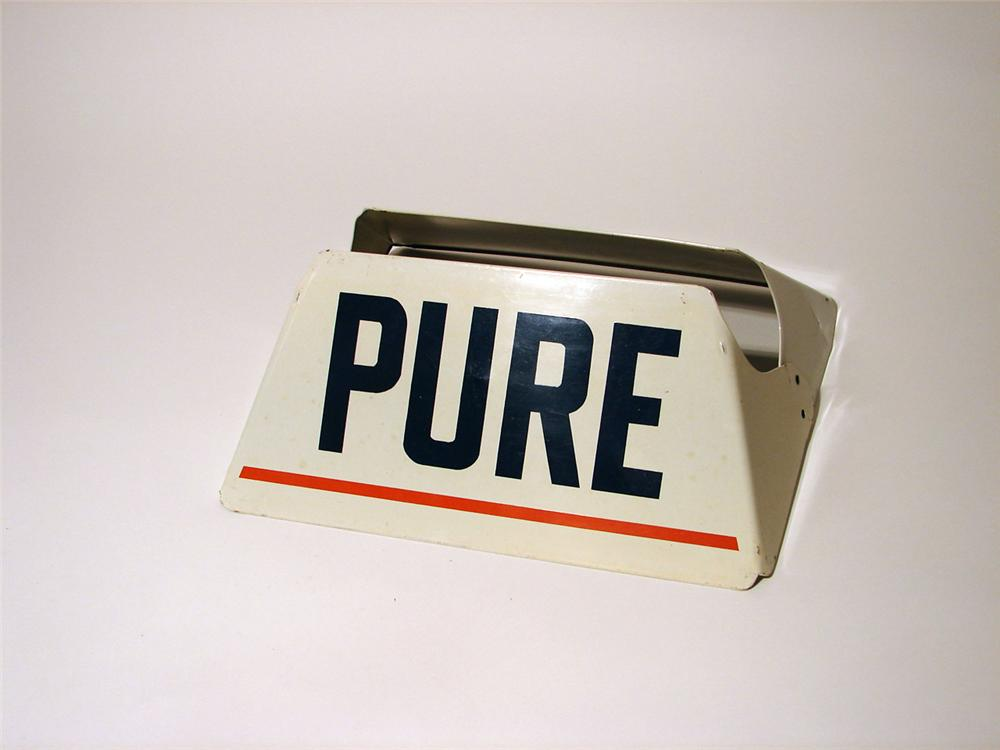 N.O.S. 1950s Pure Oil station tire display. - Front 3/4 - 50253