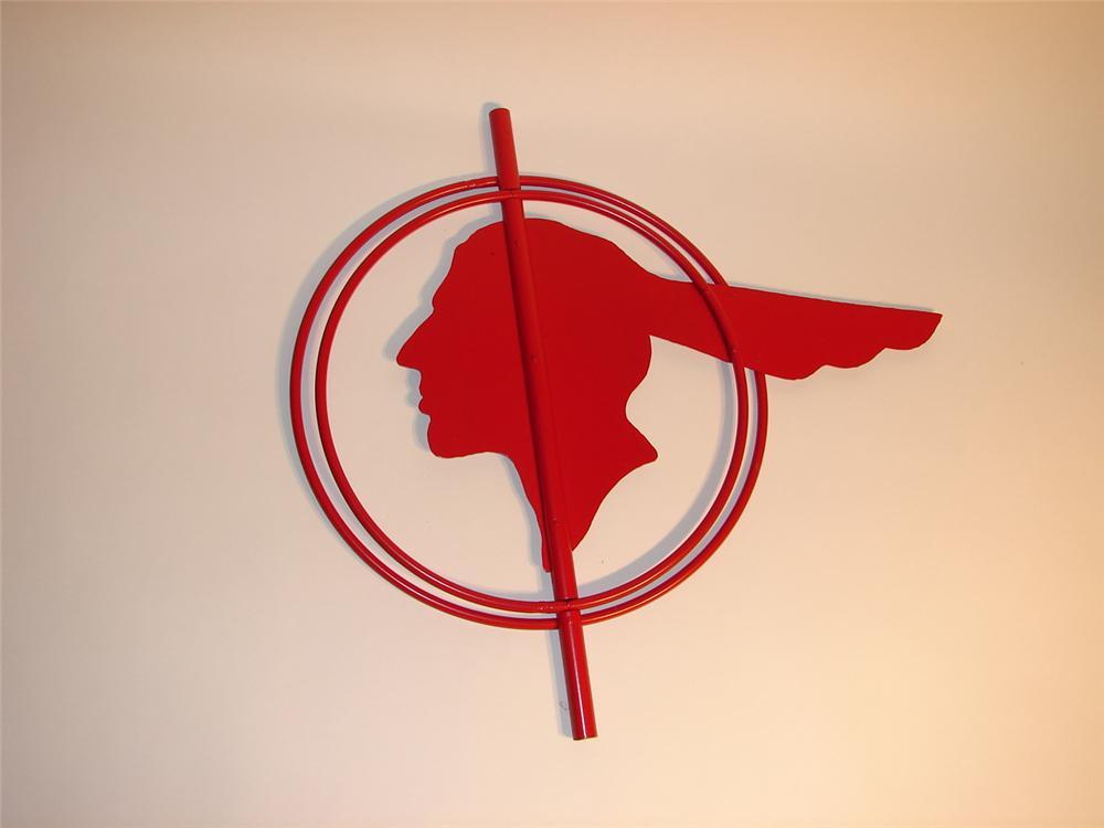 Hard to find 1940s-50s Pontiac dealership small version drive-way sign. - Front 3/4 - 62938