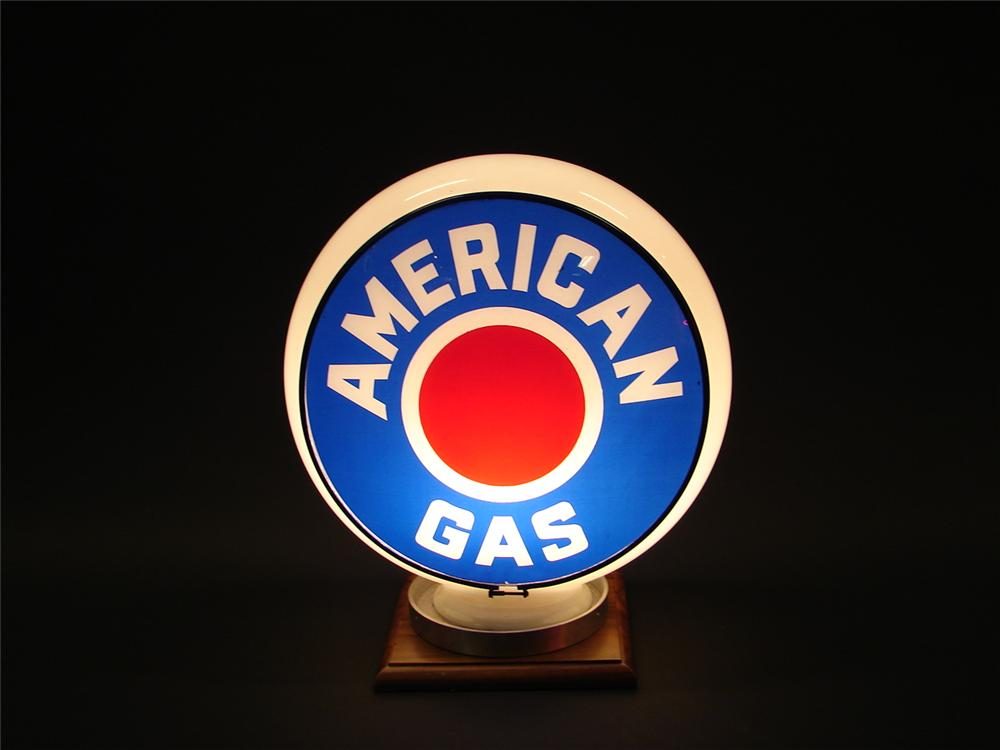 N.O.S. American Gas gill bodied gas pump globe. - Front 3/4 - 62985