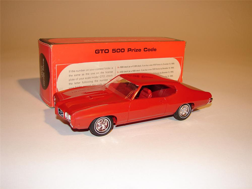 1970 Pontiac GTO dealer promotional still in the original box. - Front 3/4 - 64745