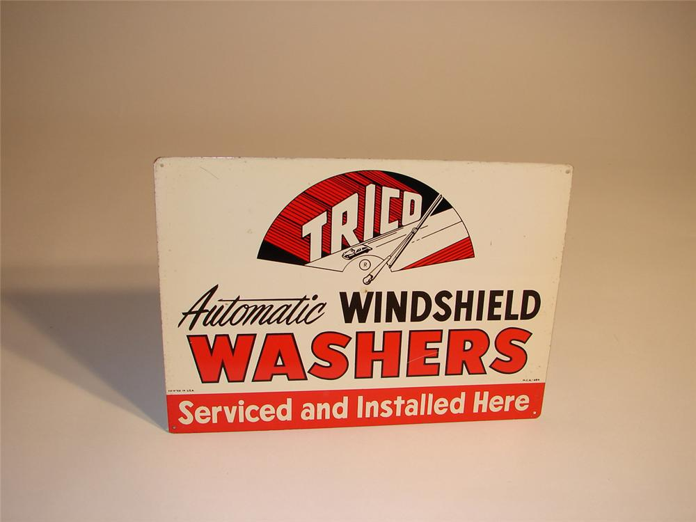 N.O.S. Trico Wiper Blades tin sign. - Front 3/4 - 64761