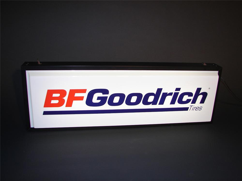 1960s BF Goodrich Tires double-sided light-up garage sign. - Front 3/4 - 65354