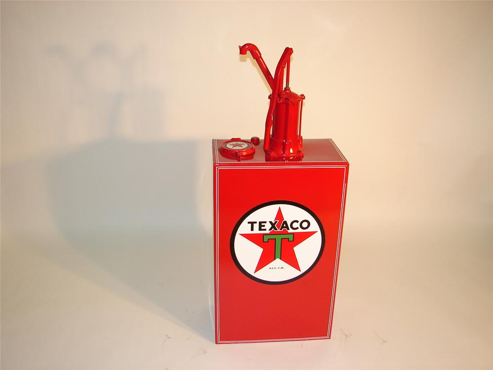 Unusual 1940s Texaco service department wheel balancer. - Front 3/4 - 65422
