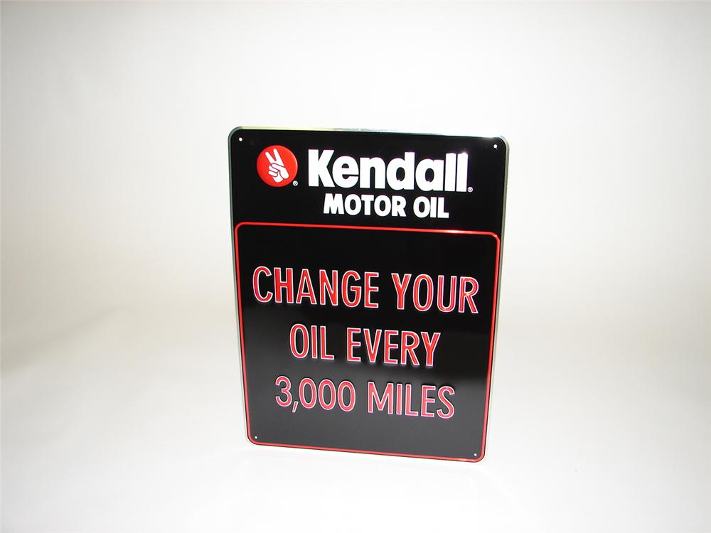 Kendall tin service department sign 67065 for Kendall motor oil distributors